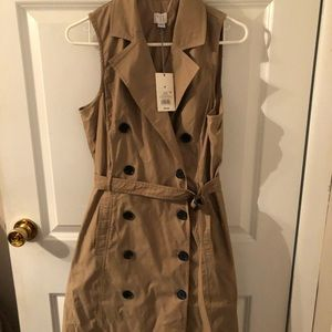 New! A New Day Sleeveless Trench